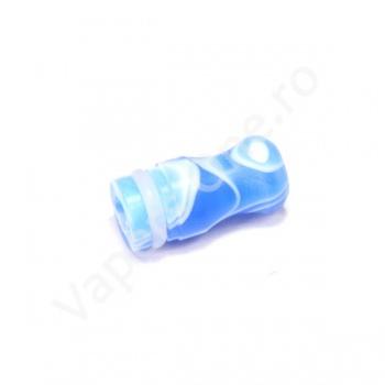 Mustiuc 510 acril albastru short