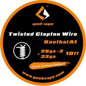 Geekvape Twisted Clapton K A1 26ga X 2+32ga