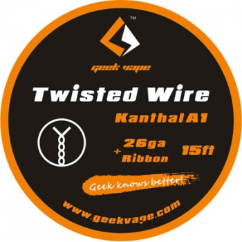 Geekvape Kanthal A1 Twisted 26AWG+W0.5 X H0.1mm