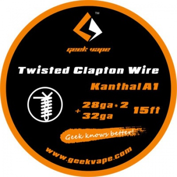 Geekvape Twisted Clapton K A1 28ga X 2+32ga