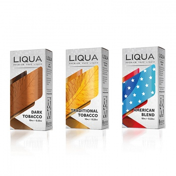 Lichid LIQUA Elements 10 ml - Aroma American Blend