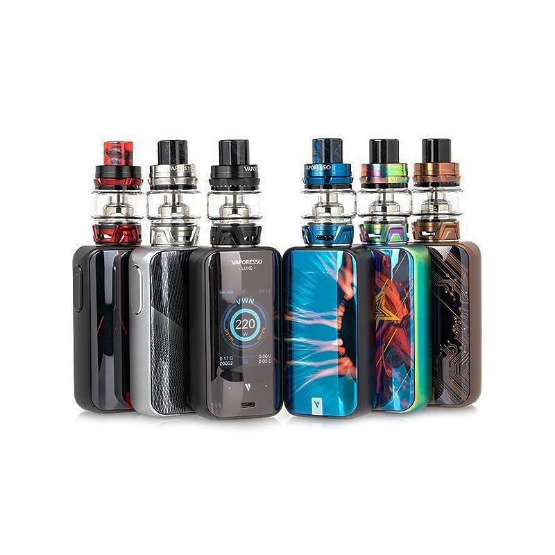 Kit Luxe Vaporesso 220W gold