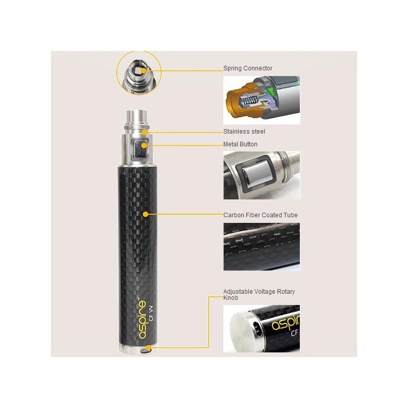 Baterie Aspire CF VV 1600 mAh neagra