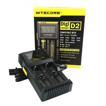 Incarcator Nitecore LCD D2