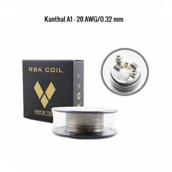 Kanthal A1 - 0.32 mm/28 AWG mosor 10 m