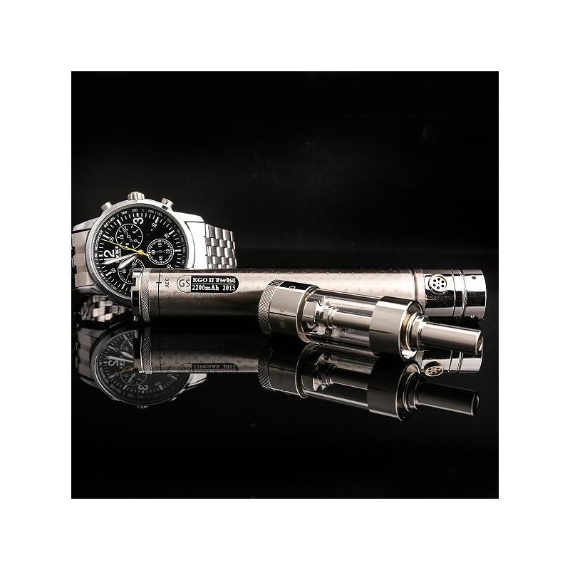 Tigara Electronica GS Ego II Twist argintie