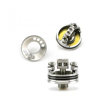 Wismec Indestructible RDA silver