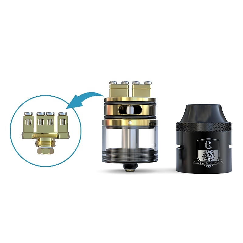 Limitless COMBO RDTA silver