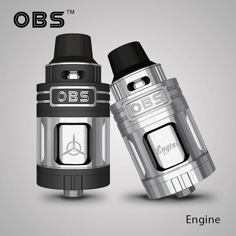 OBS Engine RTA 25 mm silver