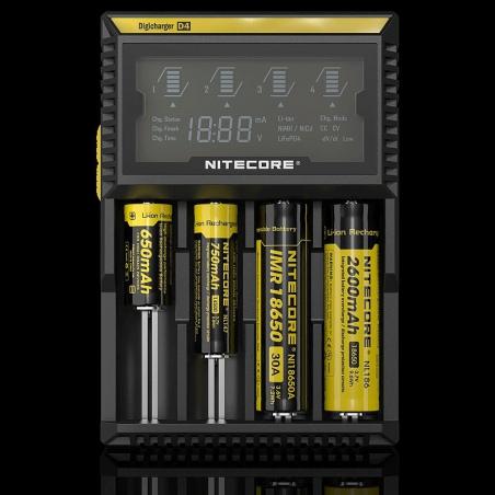 Incarcator Nitecore LCD D4
