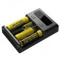 Incarcator Nitecore LCD I4