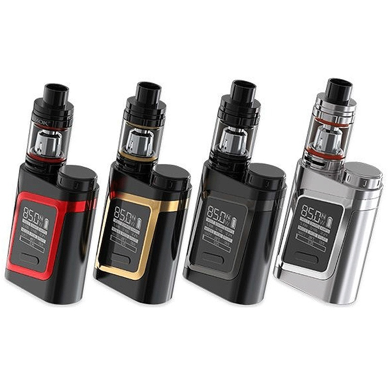 Mod SMOK AL 85 + TFV8 Baby negru rosu