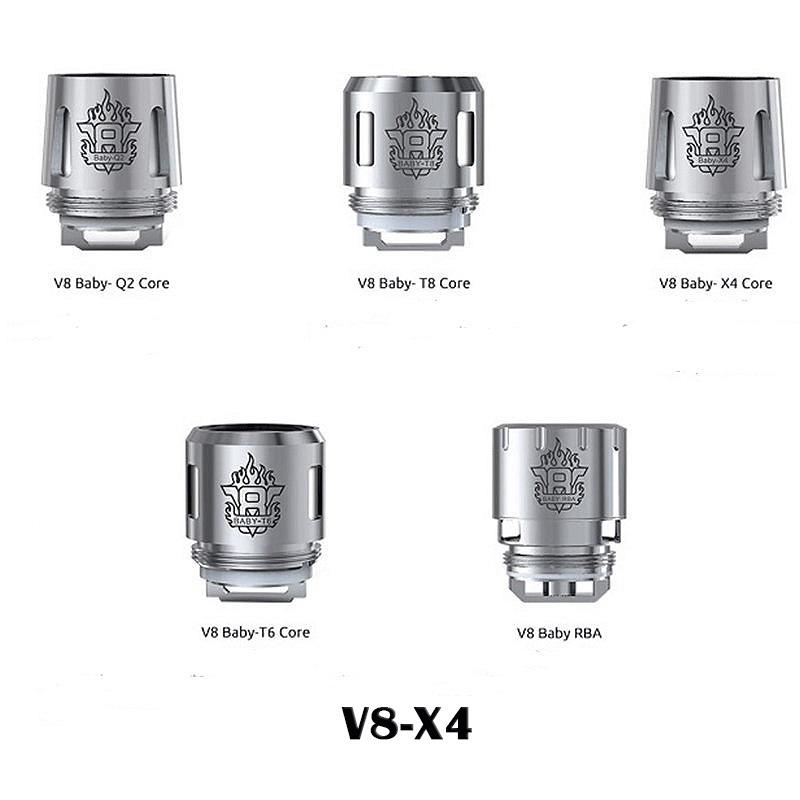 Rezistenta SMOK TFV8 Baby X4 Quadruple