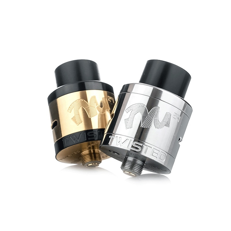 Twisted Messes 24 mm RDA  silver