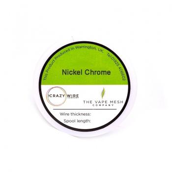 Nickel Chrome 80/20 (NiCr8020) - Ni80 - 40 AWG / 0.08 mm