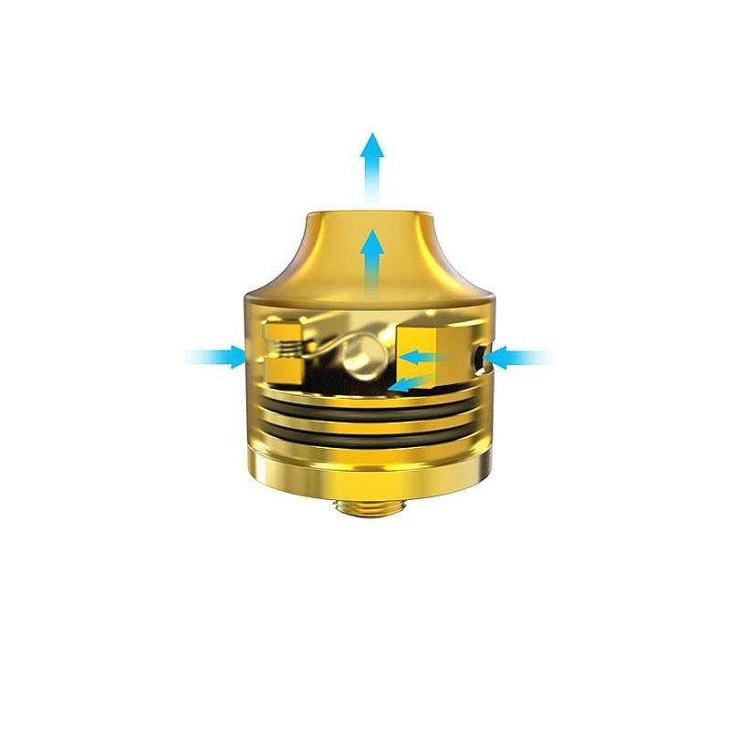 Atomizor RDA WASP NANO silver