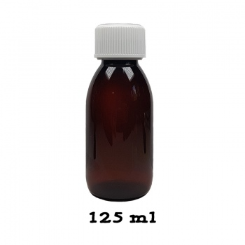 Sticla plastic pentru mixuri  - nicotinizare 125 ml