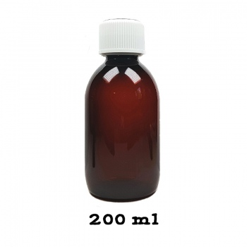 Sticla plastic pentru mixuri  - nicotinizare 200 ml