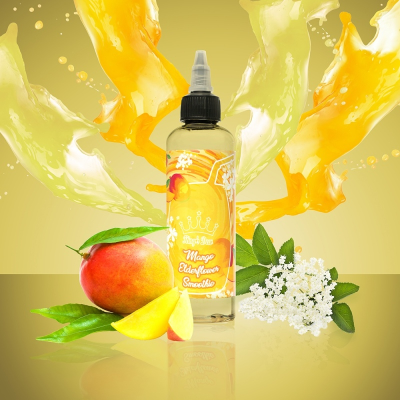 Lichid KING`S DEW 100 ml Mango Elderflower