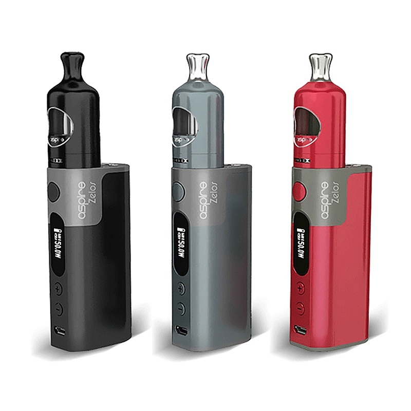 Mod Aspire ZELOS 50 W Full Kit silver
