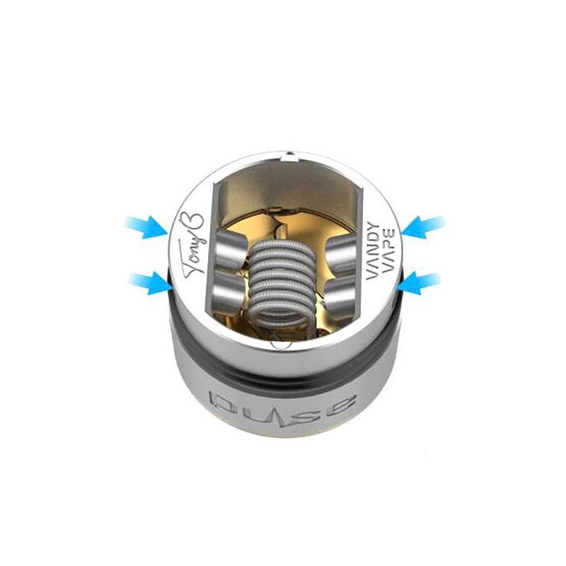 Atomizor Pulse 24 BF RDA Vandy Vape negru