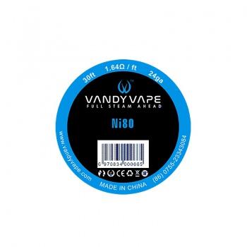 Sarma Ni80 24 AWG  Vandy Vape