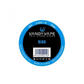 Sarma Ni80 26 AWG  Vandy Vape
