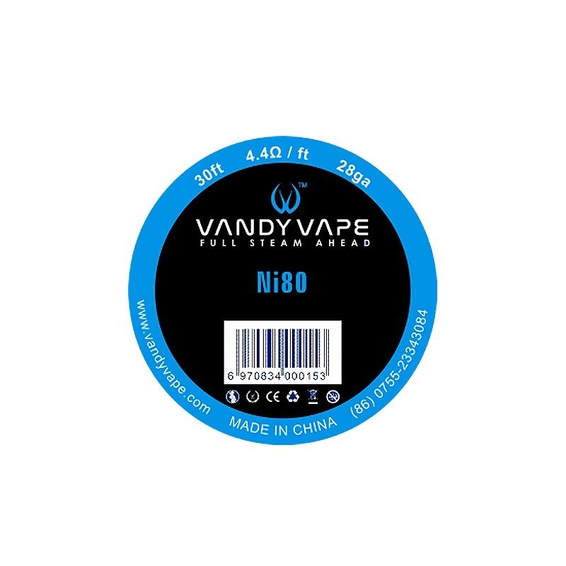 Sarma Ni80 28 AWG  Vandy Vape