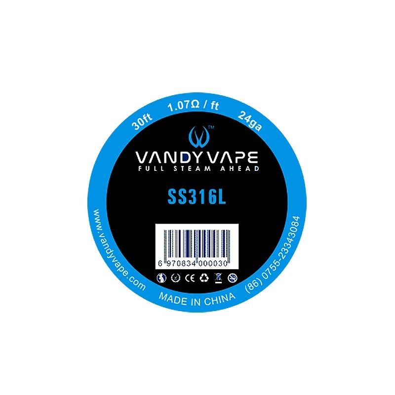 Sarma SS316L 24 AWG  Vandy Vape