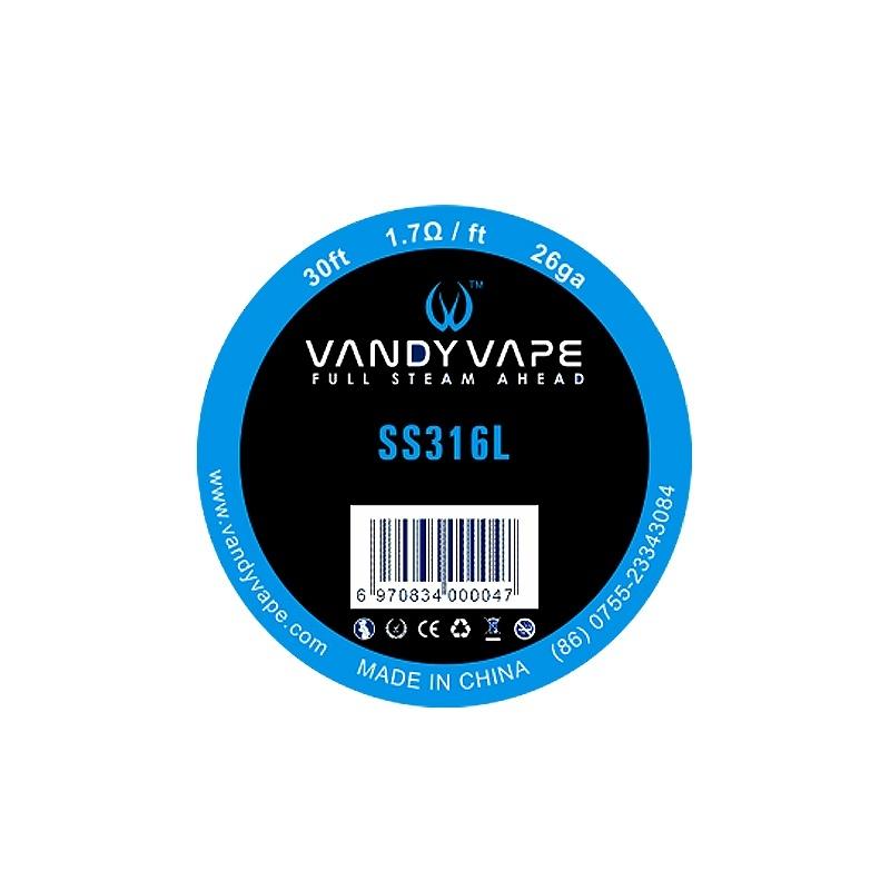 Sarma SS316L 26 AWG  Vandy Vape