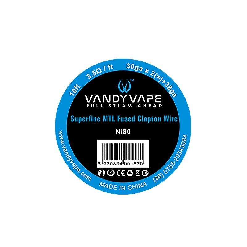 Sarma BERSERKER MTL Fused Clapton Ni80 Vandy Vape