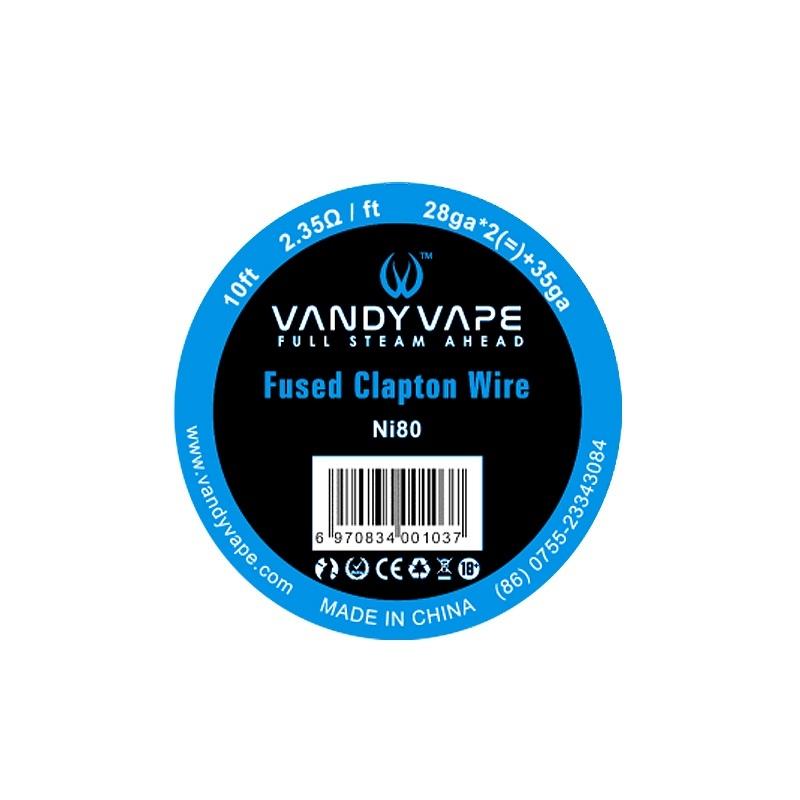 Sarma FUSED CLAPTON Vandy Vape Ni80