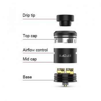 Mod GBOX Squonk Kit negru