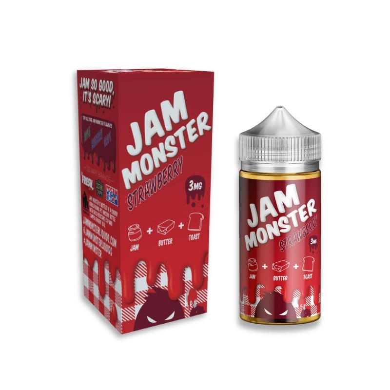 Lichid Jam Monster STRAWBERRY 100 ml