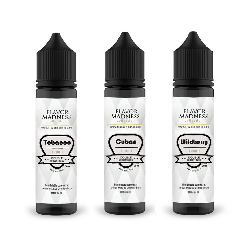 Lichid TOBACCO - Flavor Madness 30 ml