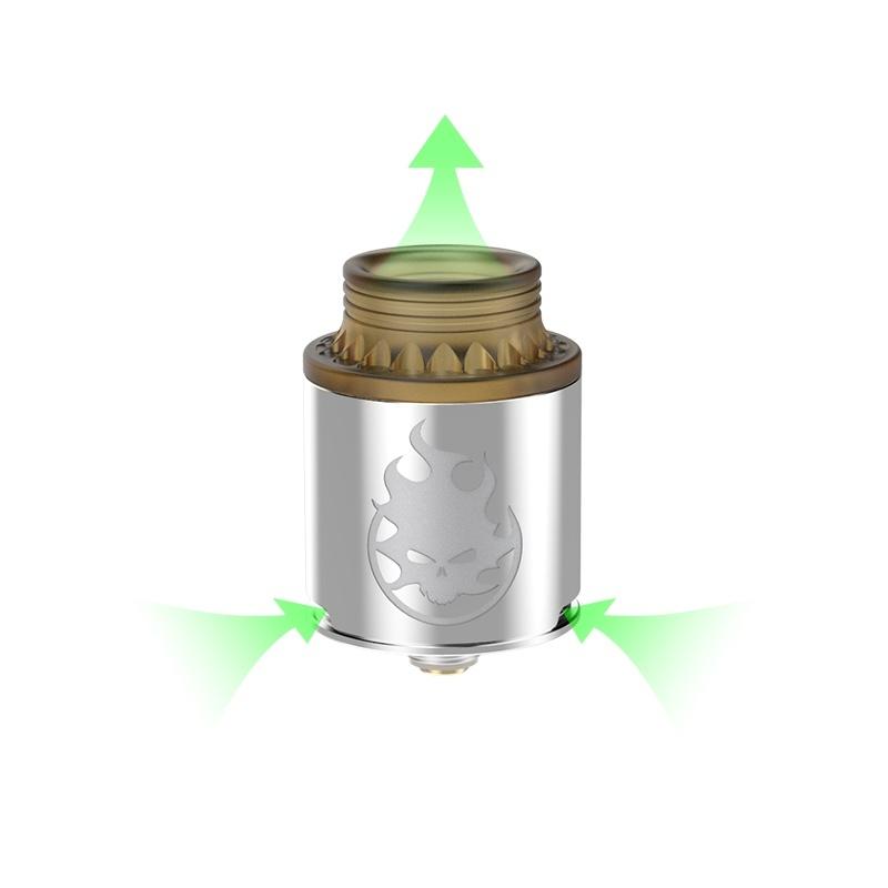 Atomizor Phobia RDA Vandy Vape silver