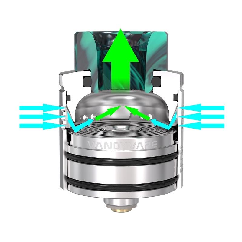 Atomizor Maze RDA Vandy Vape silver
