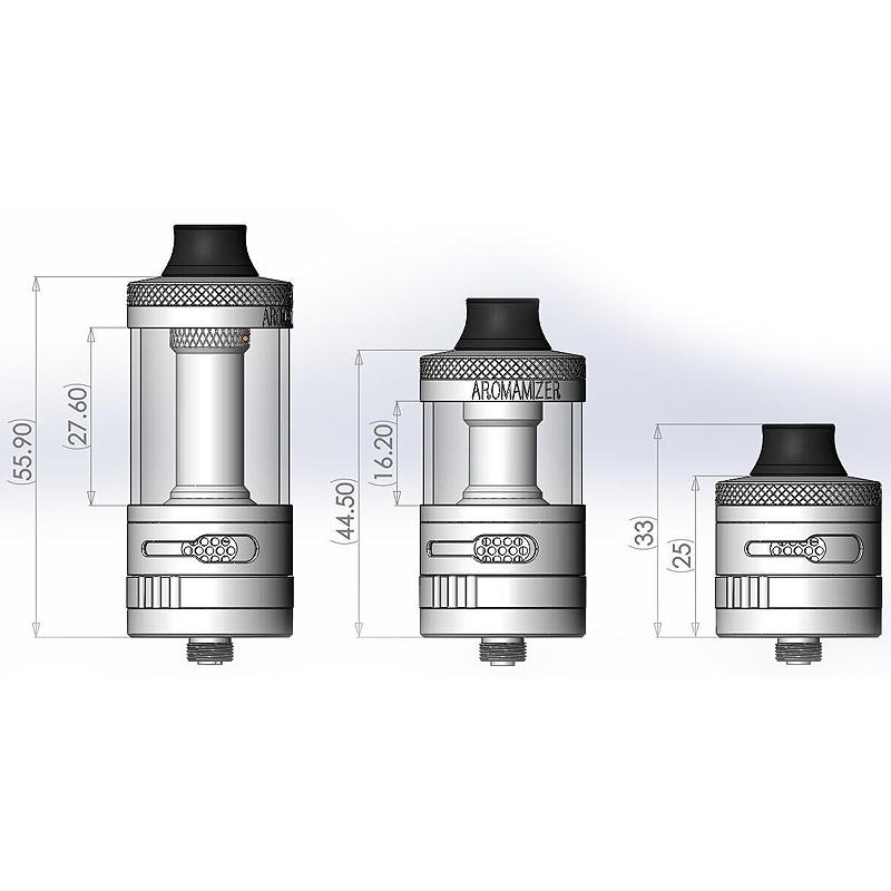 Atomizor AROMAMIZER Supreme V2 silver