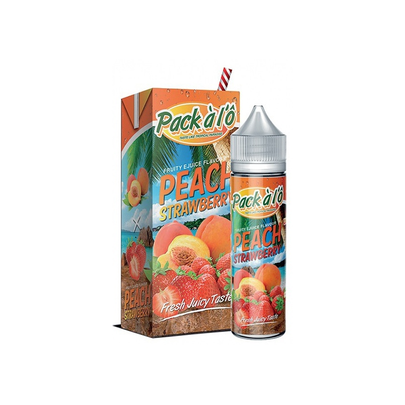 Aroma PACK ALO Peach Strawberry