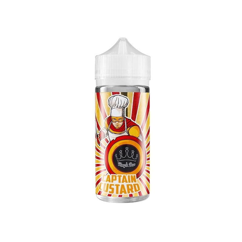 Lichid KING`S DEW 100 ml Captain Custard