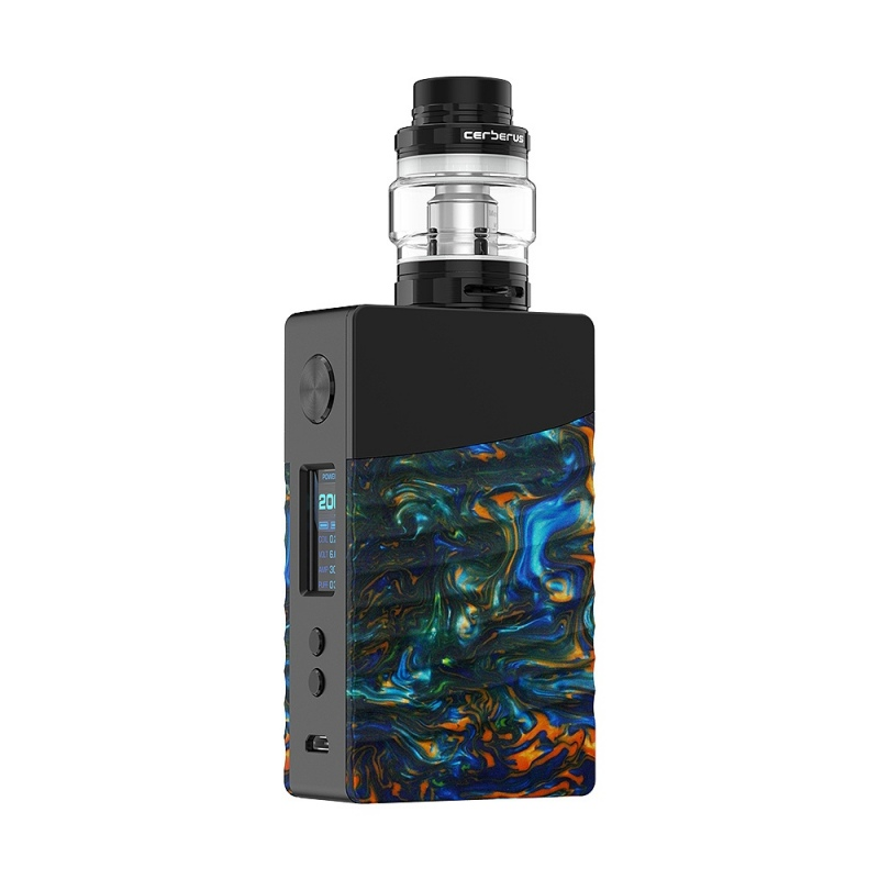 Kit Nova Geekvape 200W TC negru flare resin