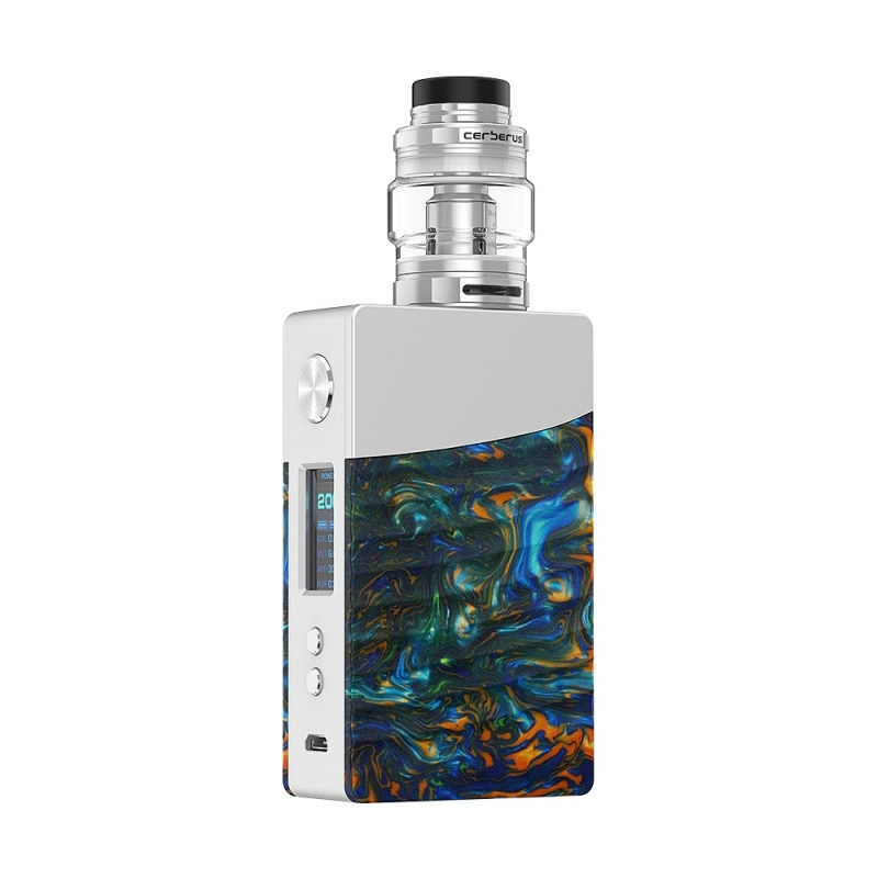 Kit Nova Geekvape 200W TC silver flare resin