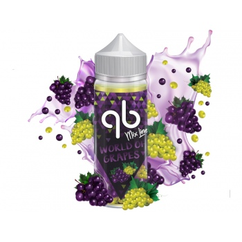 Lichid QB Mix Line World of Grapes 50 ml