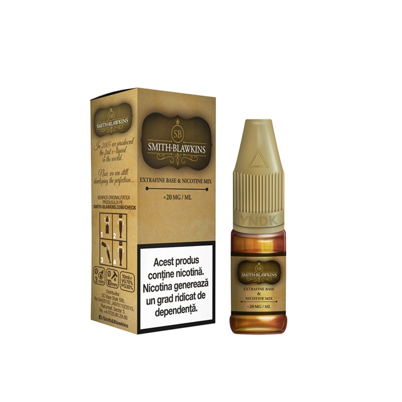 NicShot Smith & Blawkins 20 mg/ml