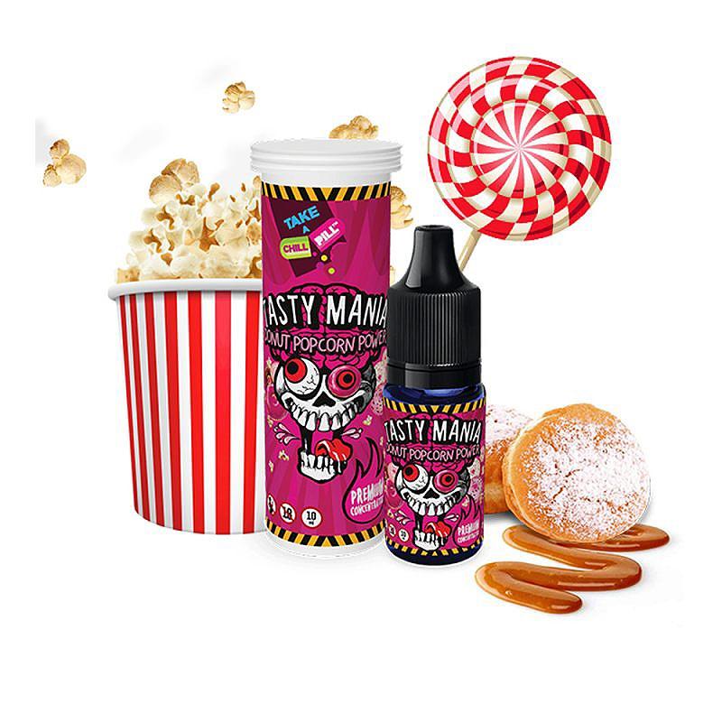 Aroma CHILL PILL - Donut Popcorn Power 10 ml