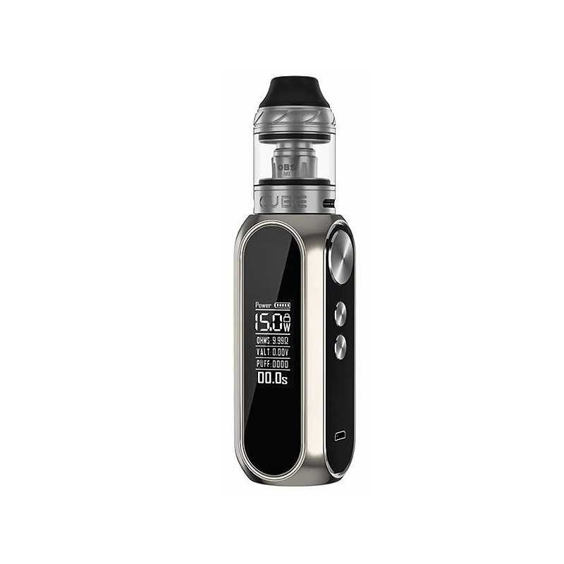 Kit Cube OBS 80W 3000 mAh silver