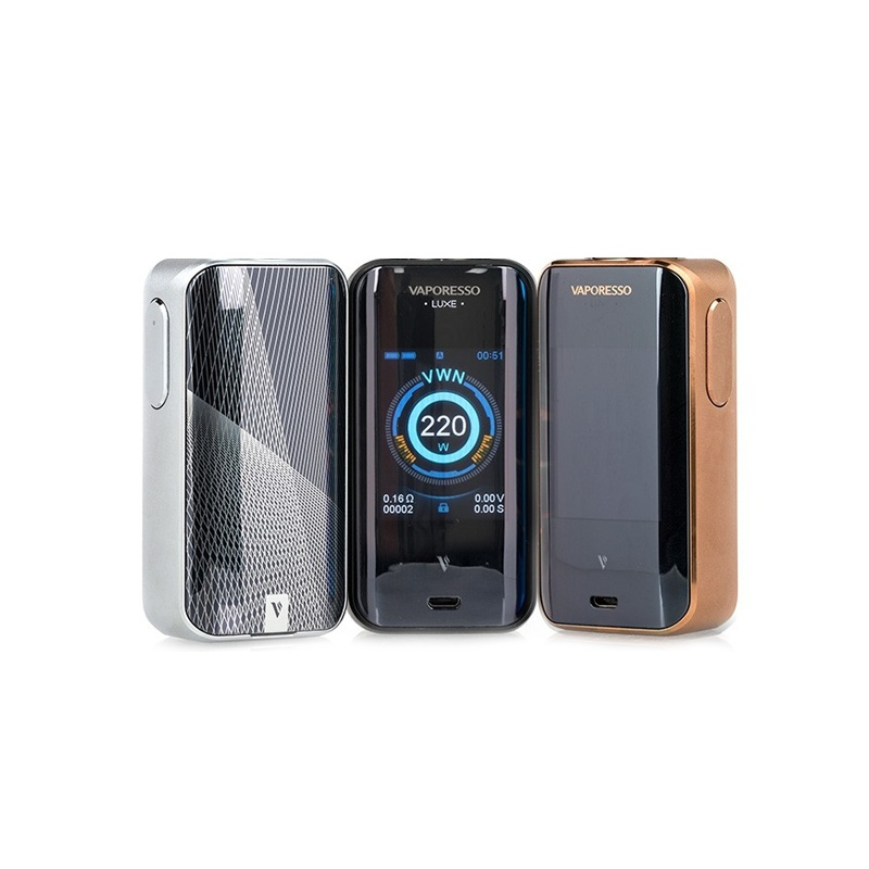 Mod Luxe Vaporesso 220W silver