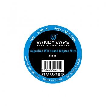 Sarma BERSERKER MTL Fused Clapton SS316 Vandy Vape